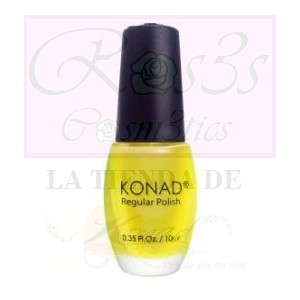 PSYCHE YELLOW Esmalte regular Konad.10ml.