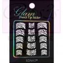 Glam sticker manicura francesa. KGS 06