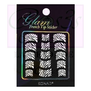 Glam sticker manicura francesa. KGS 07