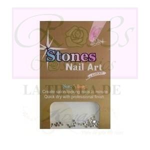 Brillantes adhesivos Konad plata