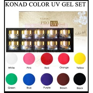 Konad Pro UV Color Gel Set I