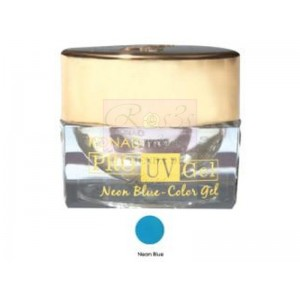 Konad Pro UV Color Gel. NEON BLUE