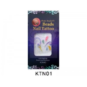 Konad Nail Beads Tatto KTN01