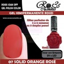 07-Solid Orange Rose 11ml.