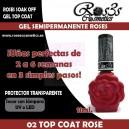02-Top Coat Rose 11 ml