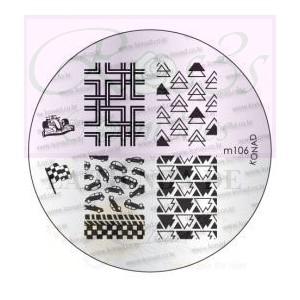 Placa de Diseños Konad. m106
