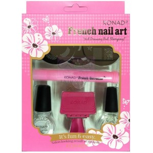 Kit F Manicura francesa M56-M75-M57 Black-Top coat
