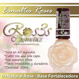 Endurecedor de uñas Roses 10ml- Ros3s Cosmetics