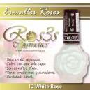 ESMALTE ROS3S:  WHITE ROSE