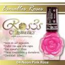 ESMALTE ROS3S: 04 NEON PINK ROSE