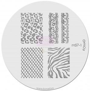 Placa de diseños. m57-1
