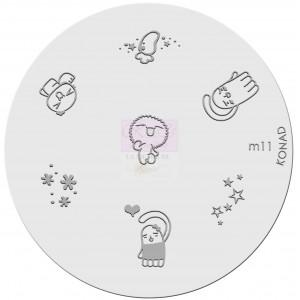 Placa de Diseños. m11