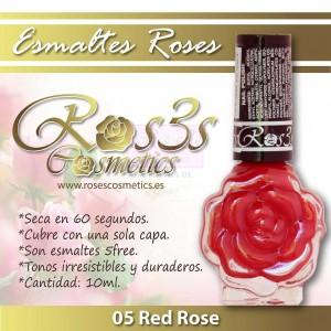 ESMALTE ROS3S: 05 RED ROSE