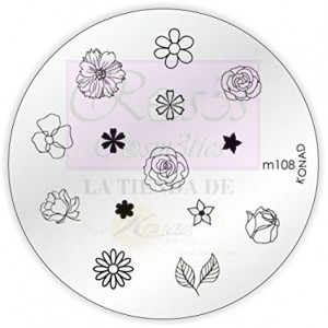 Placa de Diseños m108