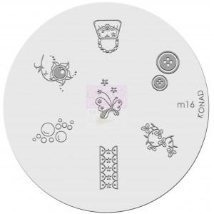 Placa de diseños. m16