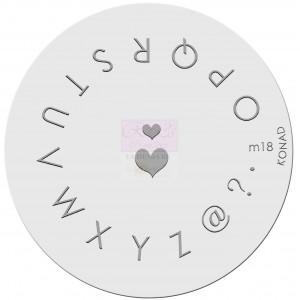 Placa de diseños. m18
