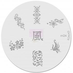 Placa de diseños. m24