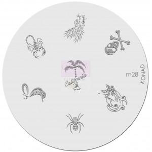 Placa de diseños. m28