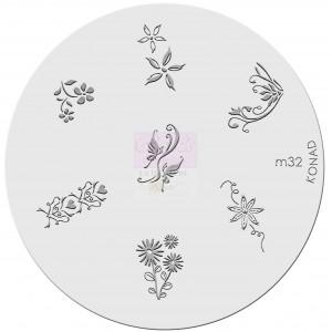 Placa de diseños. m32