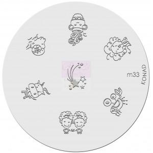 Placa de diseños. m33