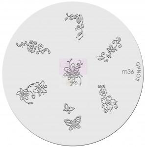 Placa de diseños. m36