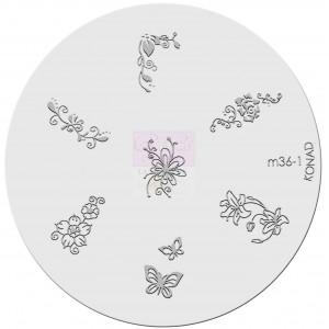 Placa de diseños. m36-1