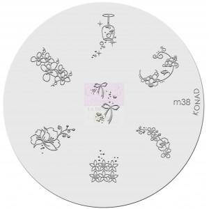 Placa de diseños. m38