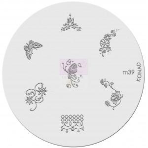 Placa de diseños. m39