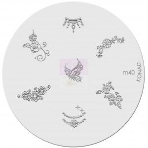 Placa de diseños. m40