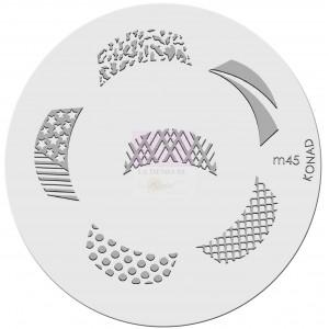 Placa de diseños. m45