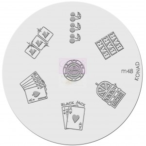 Placa de diseños. m48