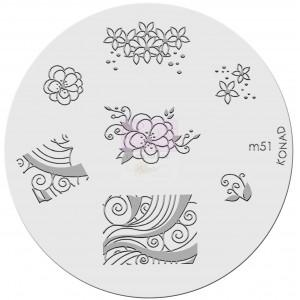 Placa de diseños. m51