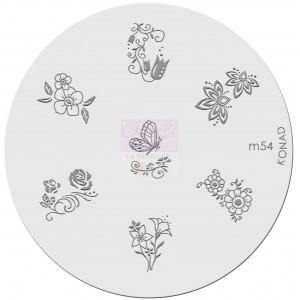Placa de diseños. m54
