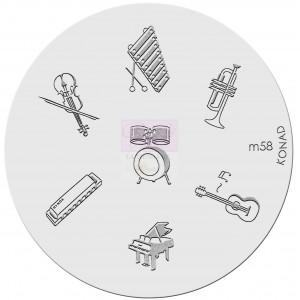 Placa de diseños. m58
