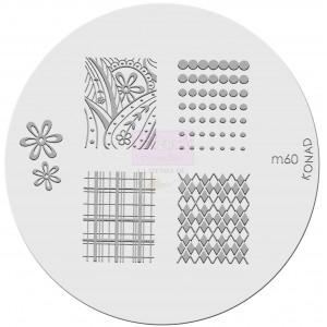 Placa de diseños. m60