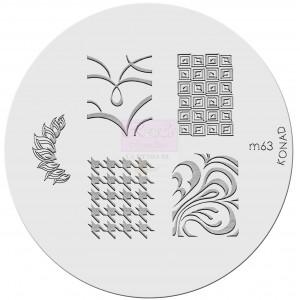 Placa de diseños. m63