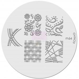 Placa de diseños. m64