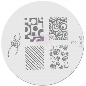 Placa de diseños. m65