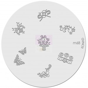 Placa de diseños. m68