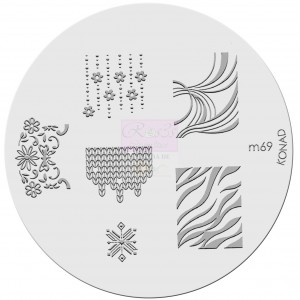Placa de diseños. m69