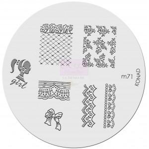 Placa de diseños. m71