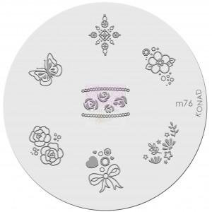Placa de diseños. m76