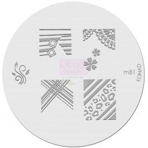 Placa de diseños. m81