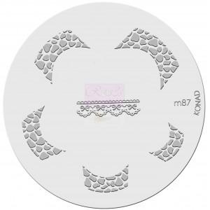 Placa de diseños. m87