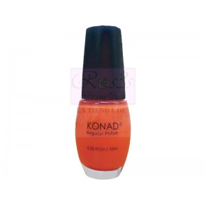 NEON ORANGE Esmalte Regular Konad 10ml.