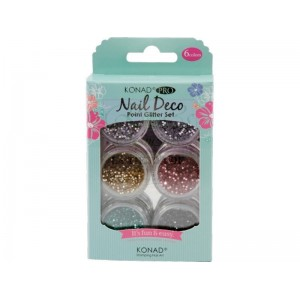 Konad Pro Nail Deco Point Glitter Set