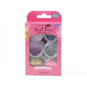 Konad Pro Nail Deco Sand Glitter Set