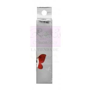 Pincel decoración brillo Rojo A502
