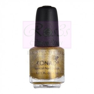 Powdery Gold P52 Esmalte Especial Konad 5ml
