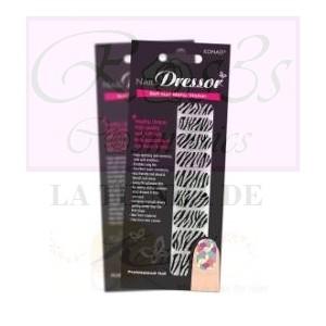KONAD Nail Dressor Design Glitter - Black JBLDGZE-B